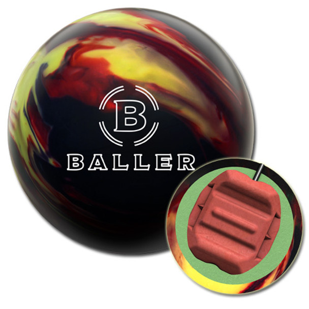 Columbia 300 Baller Bowling Ball and Core