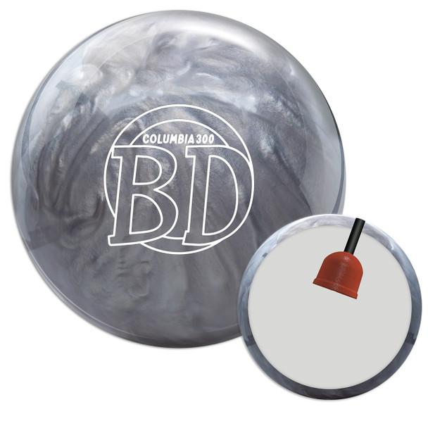 Columbia 300 Blue Dot Bowling Ball and Core