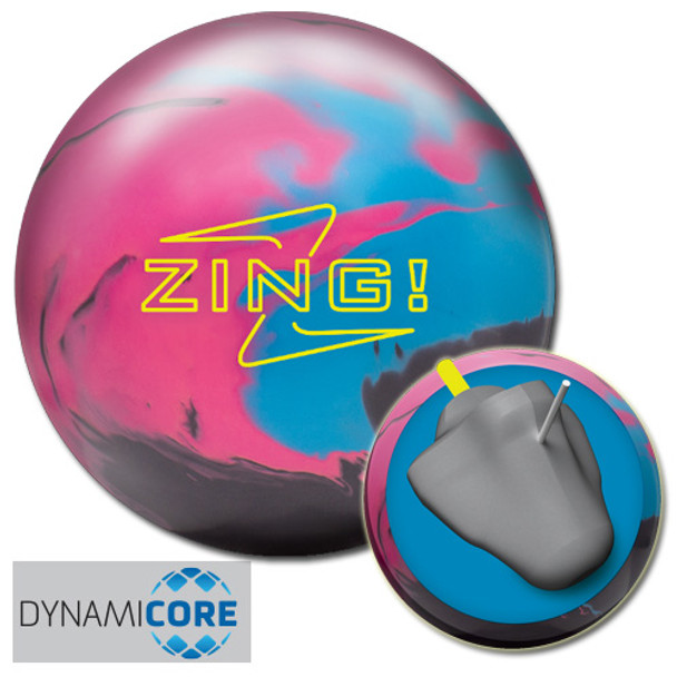 Radical Zing Bowling Ball and Core