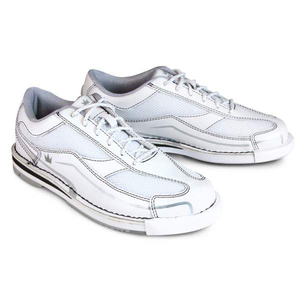 Brunswick Team Brunswick Womens Bowling Shoes - White - Right Handed - angle