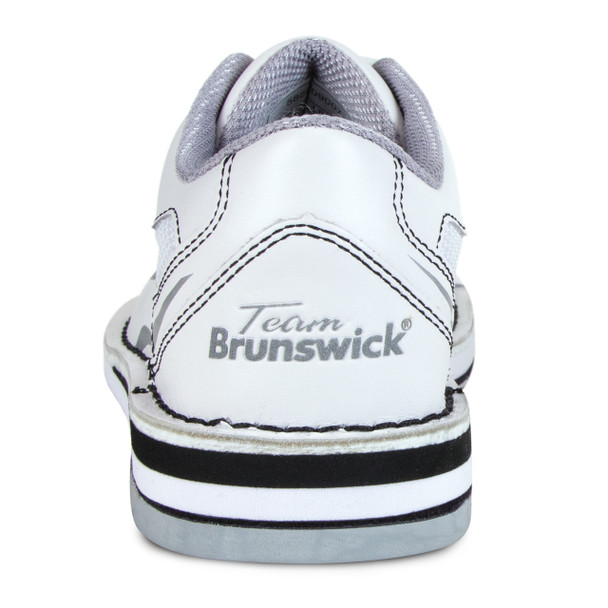 Brunswick Team Brunswick Womens Bowling Shoes - White - Right Handed - back of shoe