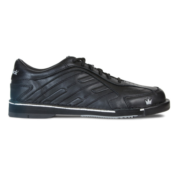 Brunswick Team Brunswick Mens Bowling Shoes Black Right Handed - side view