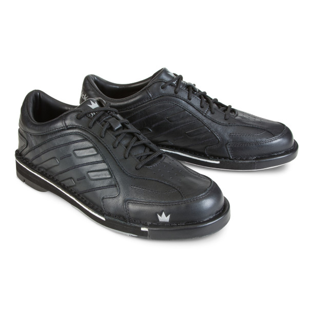 Brunswick Team Brunswick Mens Bowling Shoes - Black - Right Handed - WIDE