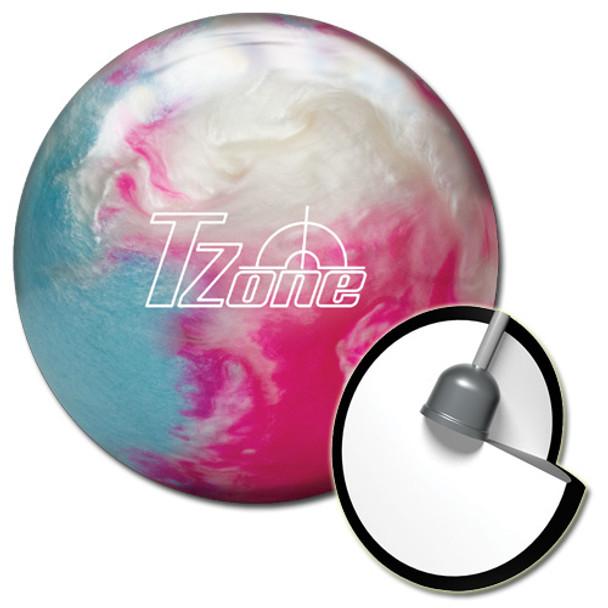 Brunswick Target Zone Frozen Bliss Bowling Ball