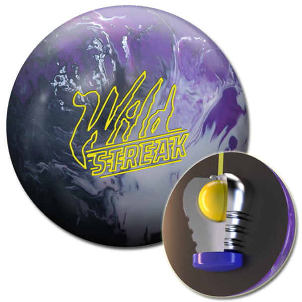 Roto Grip Wild Streak Bowling Ball and Core