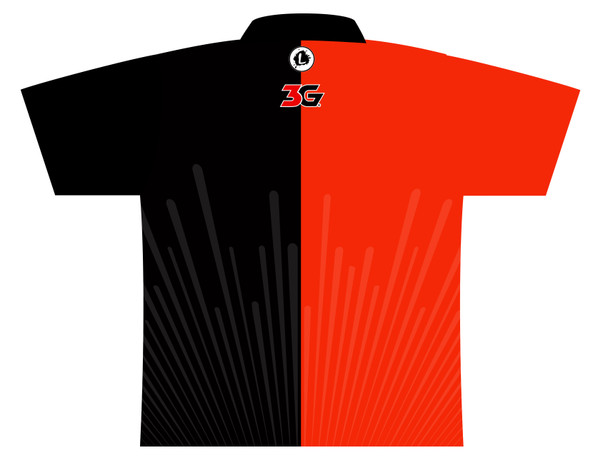 900 Global Bowling Jersey by Logo Infusion - 03039G - Back of Jersey