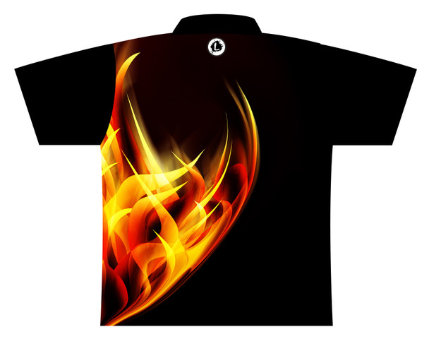 900 Global Bowling Jersey by Logo Infusion - 05749G - Back of Jersey