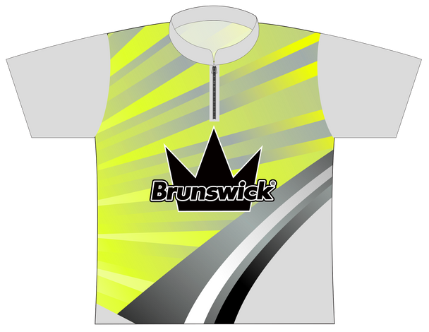 Brunswick Bowling Jersey by Logo Infusion - 0194BR - Front of Jersey
