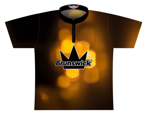 Brunswick Bowling Jersey by Logo Infusion - 0307BR - Front of Jersey