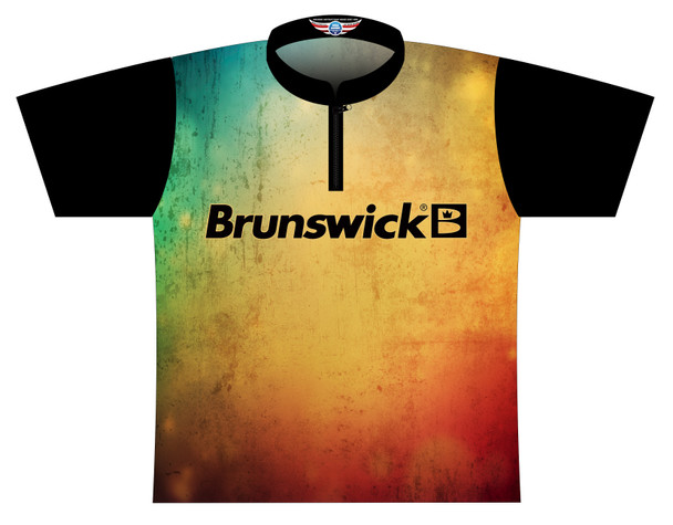 Brunswick Bowling Jersey by Logo Infusion - 0523BR - Front of Jersey