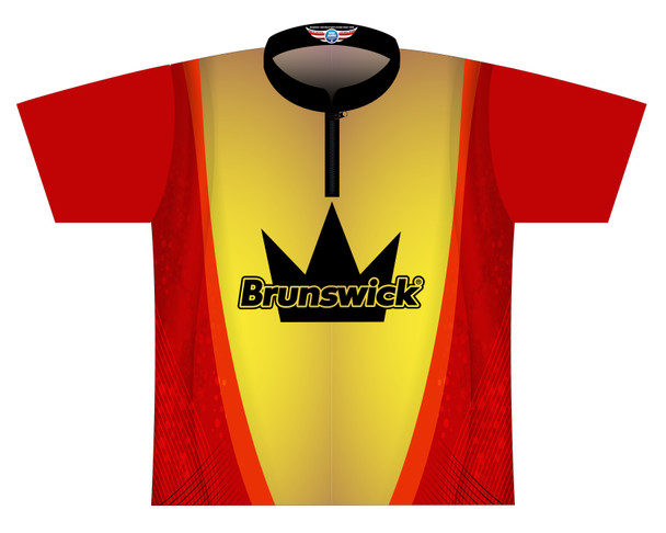 Brunswick Bowling Jersey by Logo Infusion - 0524BR - Front of Jersey