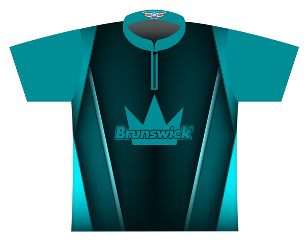 Brunswick Bowling Jersey by Logo Infusion - 0525BR - Front of Jersey