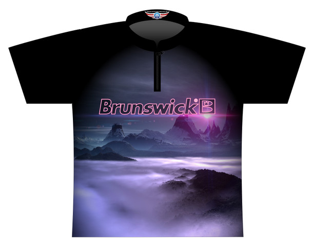 Brunswick Bowling Jersey by Logo Infusion - 0575BR - Front of Jersey