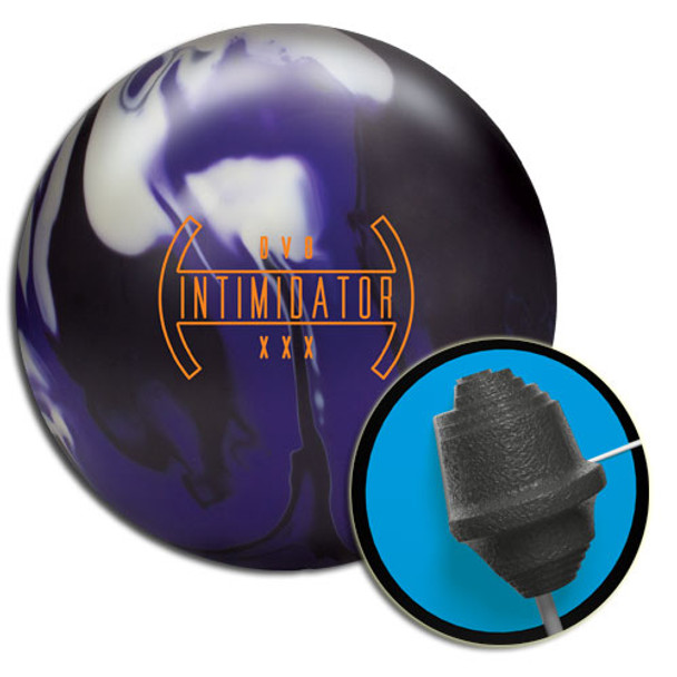 DV8 Intimidator Bowling Ball and Core