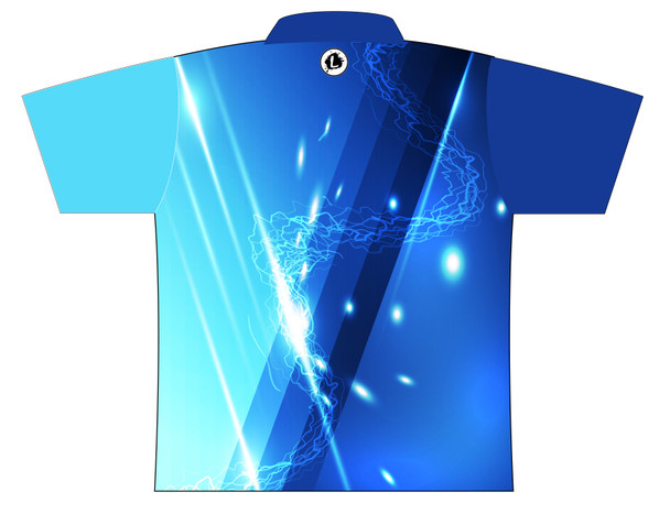 Storm Dye Sublimated Bowling Shirt - Style 0253ST - Back of Jersey
