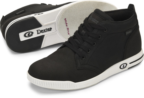 Dexter Timber Mens Bowling Shoes Black
