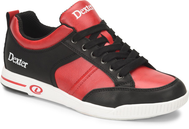 Dexter Dave Black/Red Mens Bowling Shoes