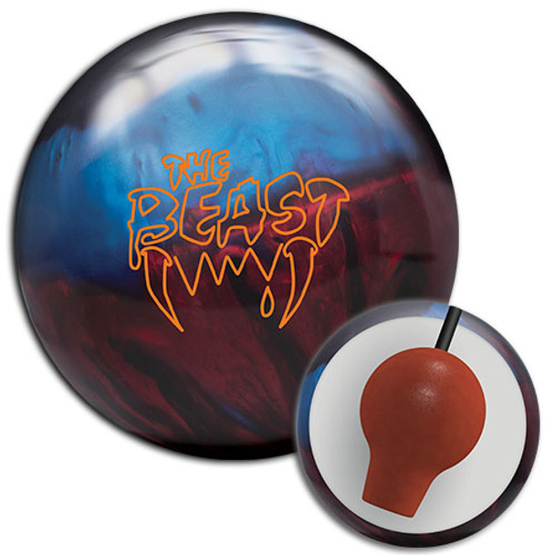 Columbia 300 Beast Blue/Red/Black Bowling Ball and Core