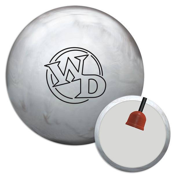 Columbia 300 White Dot Diamond Bowling Ball and core