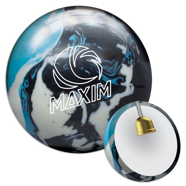 Ebonite Maxim Bowling Ball - Captain Planet Ball and Core