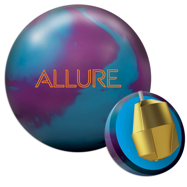Ebonite Allure Solid Bowling Ball and Core