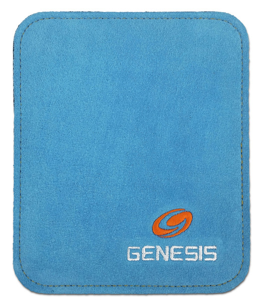 Genesis Pure Ultra Performance Bowling Ball Wipe Pad - Blue - open package