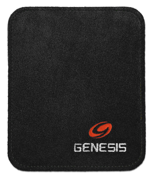 Genesis Pure Ultra Performance Bowling Ball Wipe Pad - Black - open package