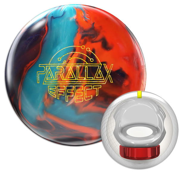 Storm Parallax Effect Bowling Ball and Core