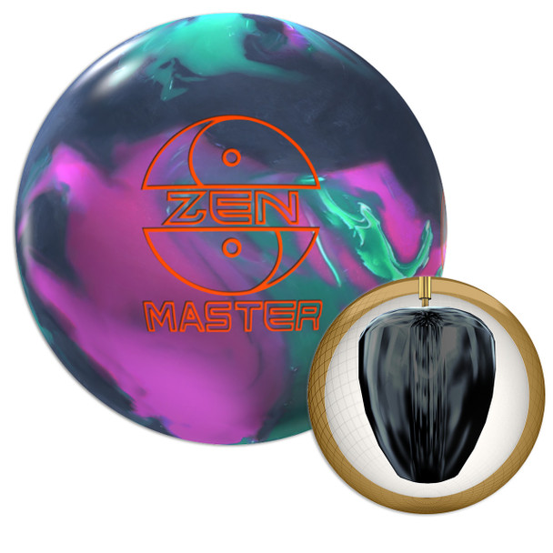 900 Global Zen Master Bowling Ball and Core