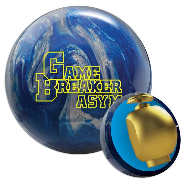Ebonite Game Breaker Asym Bowling Ball and Core