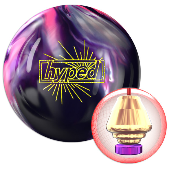 Roto Grip Hyped Hybrid Bowling Ball and Core