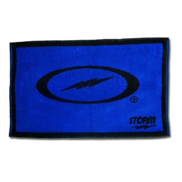 Storm Black/Blue Cotton Bowling Towel