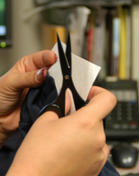 Vise Performance Tape Scissors for cutting your bowling tape.