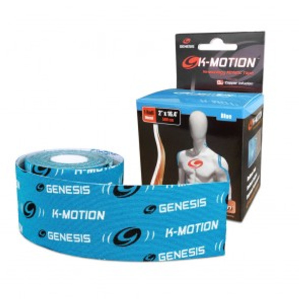 Genesis K-Motion Tape - Blue - 16.4 Ft Roll