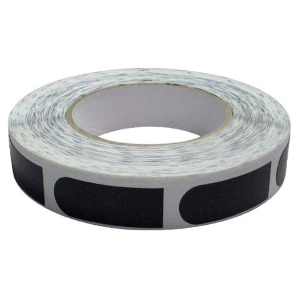 "PowerHouse Premium Black Smooth 3/4"" Bowling Tape - 500 Roll"