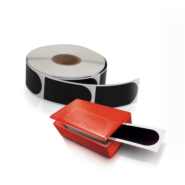 "Storm Black Smooth 1"" Bowling Tape - 30 piece and 500 piece roll displayed - each sold separately"