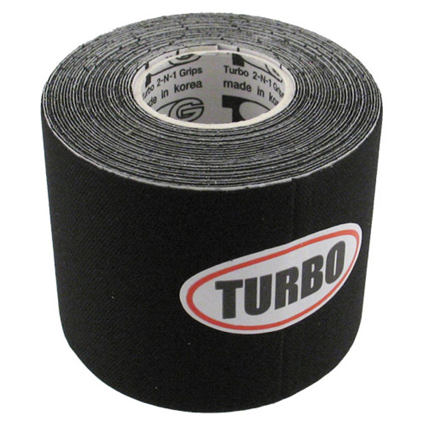 Turbo Power Supplies Patch Tape Black