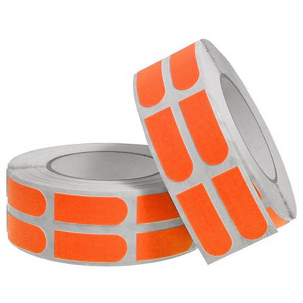 "Turbo Neon Orange Textured Grip Strips 3/4"" Bowling Tape - 500 Roll"