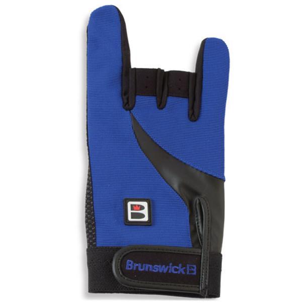 Brunswick Grip All Bowling Glove - Black/Blue
