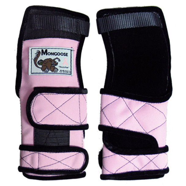 Mongoose Lifter Bowling Wrist Support - Pink