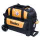 KR Strikeforce NFL Pittsburgh Steelers 2 Ball Roller Bowling Bag