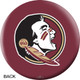 OTBB Florida State University Bowling Ball back