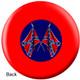 OTBB Confederate Flag Bowling Ball back