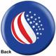 OTBB American Flag Bowling Ball back