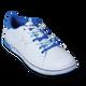 KR Strikeforce Womens Gem Bowling Shoes White/Blue top blue lace