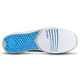 KR Strikeforce Womens Gem Bowling Shoes White/Blue bottom