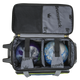 Brunswick Crown Deluxe Double Roller Bowling Bag ball detail
