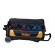 KR Strikeforce NFL Pittsburgh Steelers Triple Roller Bowling Bag ball detail