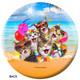 OTBB Cats Selfie Bowling Ball back