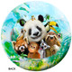 OTBB Zoo Friends Selfie Bowling Ball back